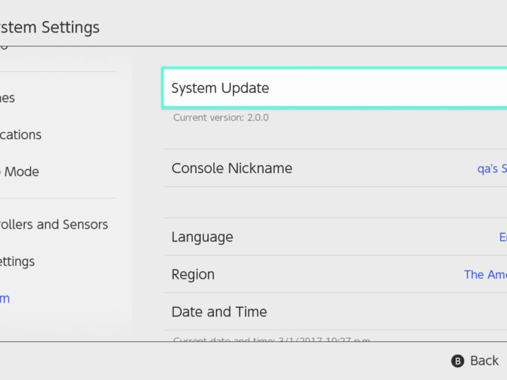 Nintendo Switch System Update Includes Controller Remapping Support