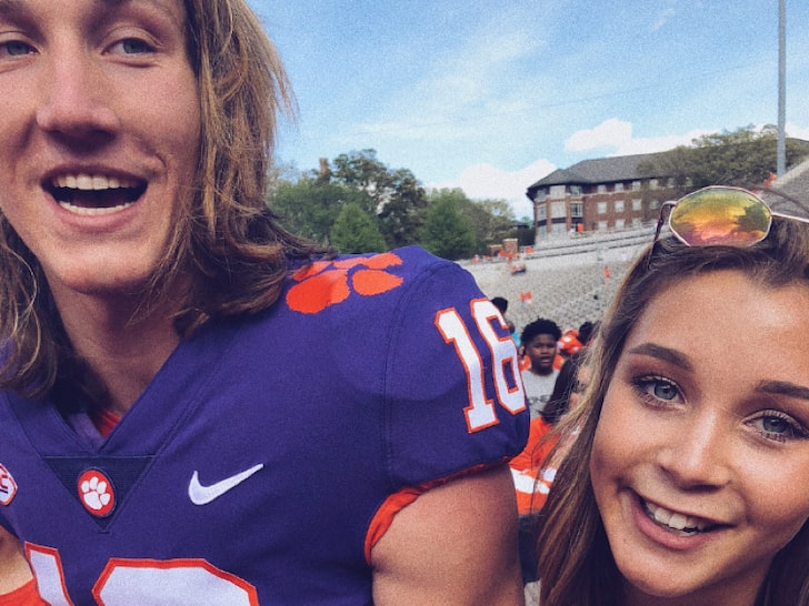 Trevor Lawrence and Marissa Mowry - The Happy Couple