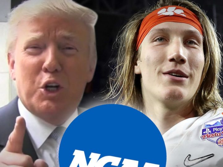 Donald Trump Against Canceling College Football, Players Working Too Hard!