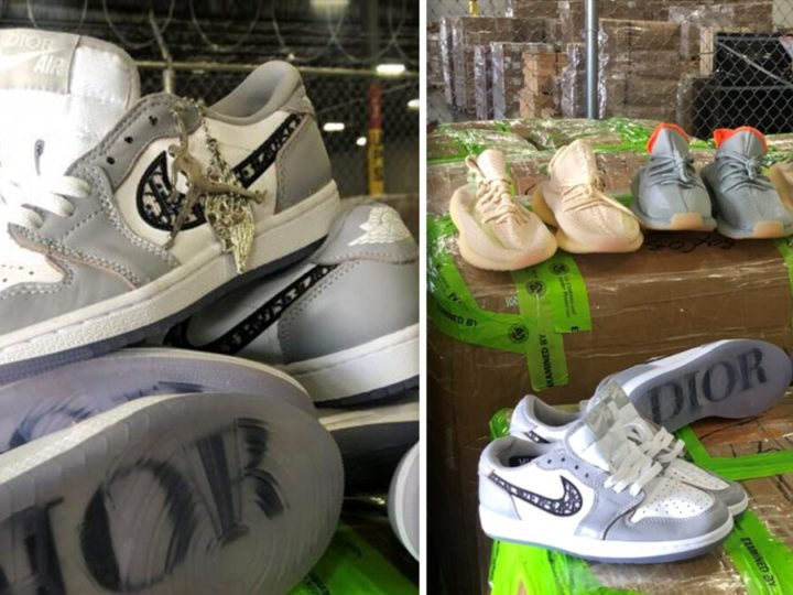 Texas Customs Agents Seize $4.3M Worth of Fake Jordans, Yeezys