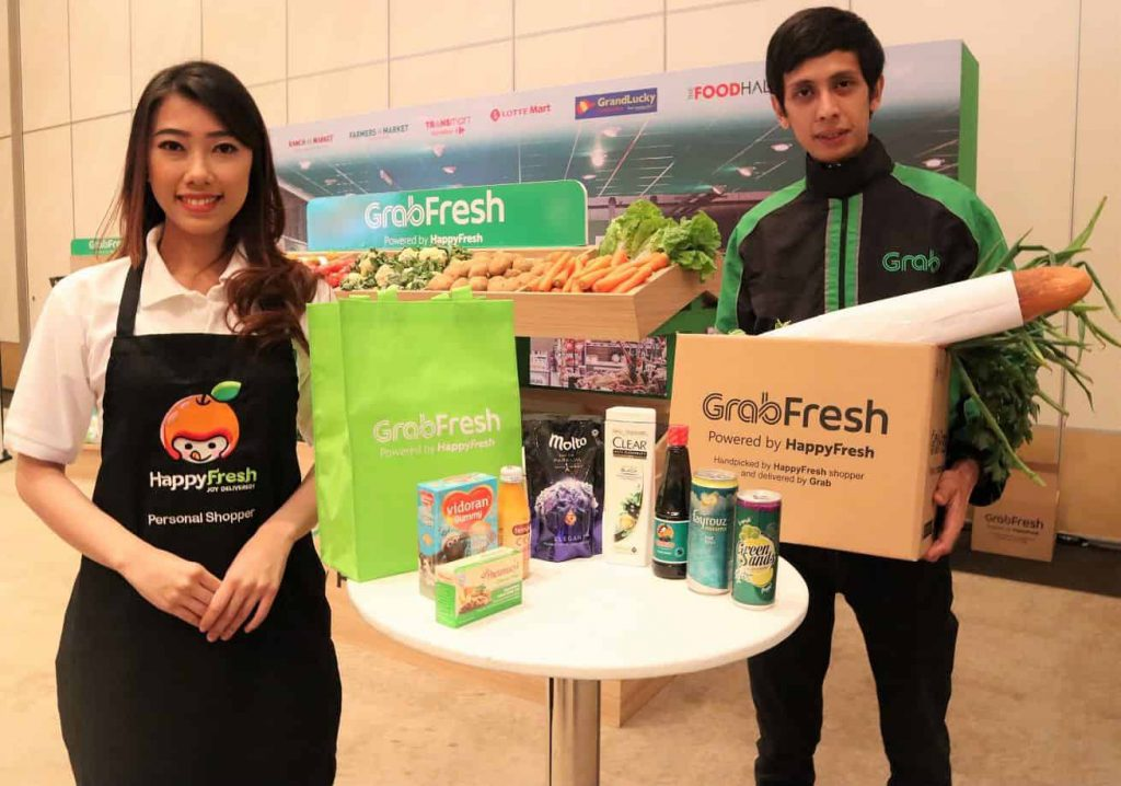GrabFresh grocery delivery