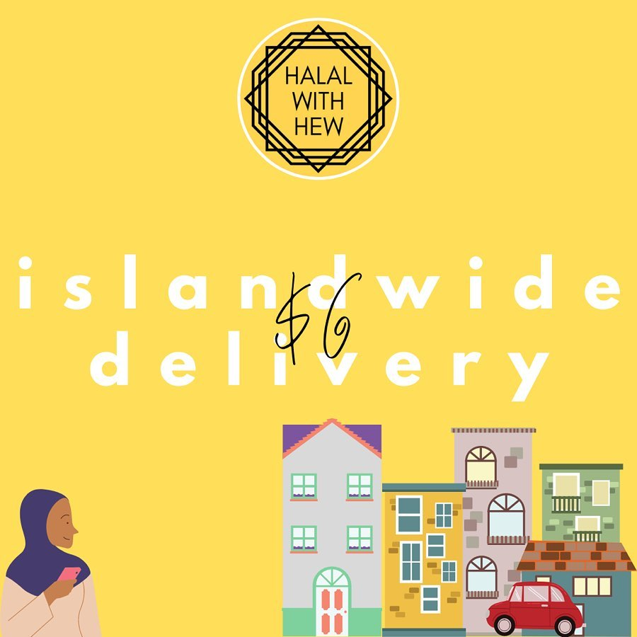 halal with food delivery