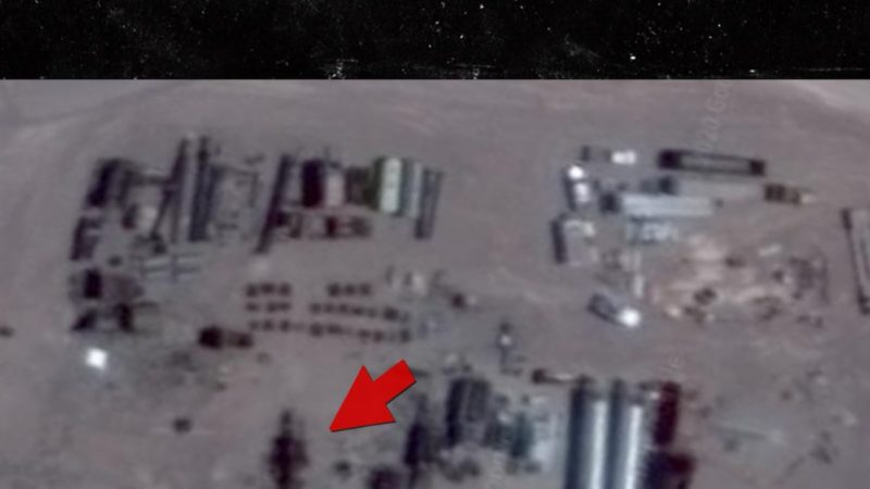 UFO 'Hunter' Claims He Found Giant Alien Robot Being Built at Area 51