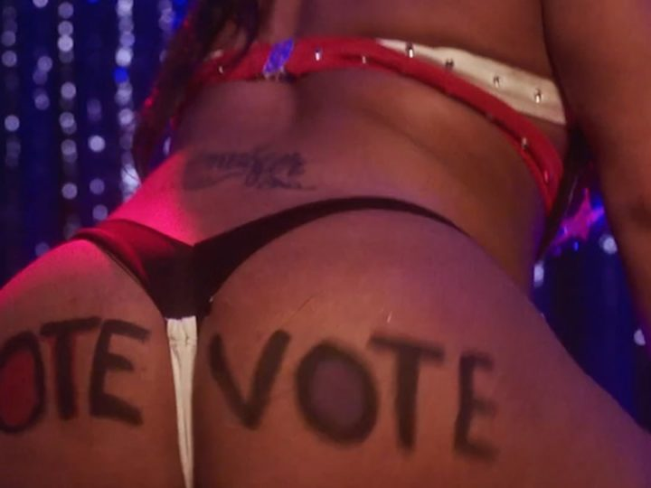 Pole Dancing Strippers Encourage Folks to Vote with Wild PSA