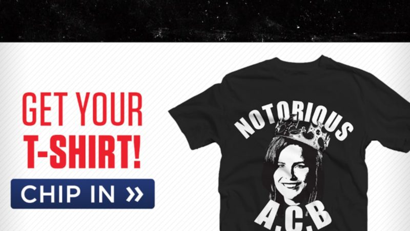 Republicans Sell 'Notorious A.C.B.' T-Shirts Supporting Amy Coney Barrett