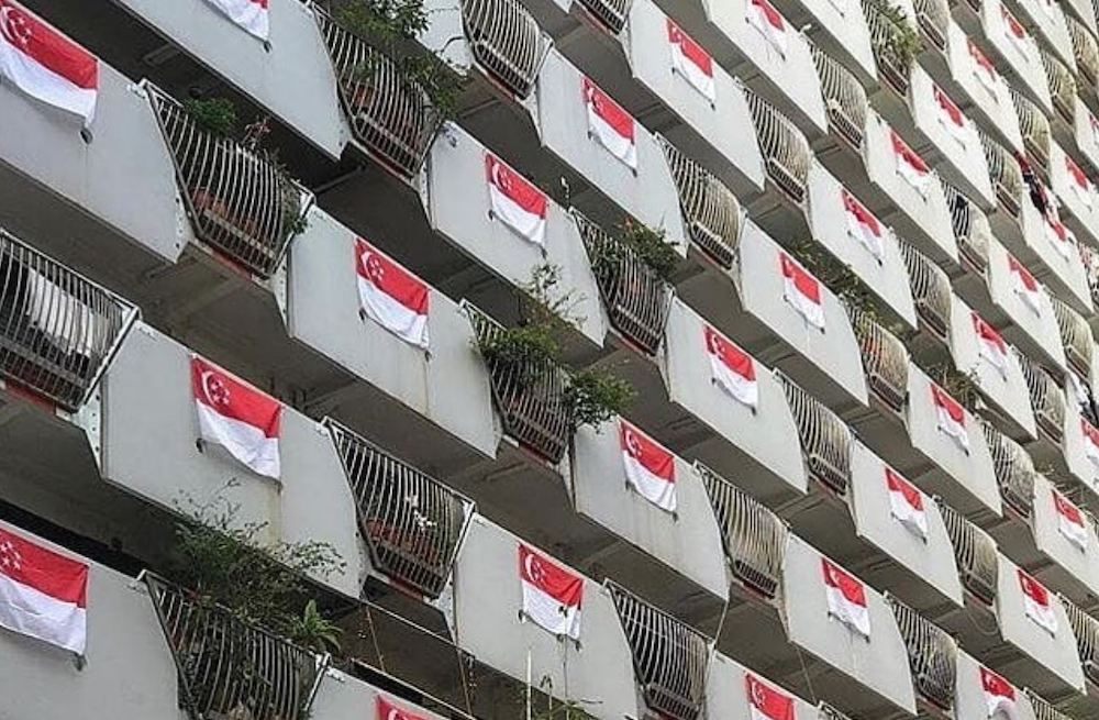 remove the flag before september 30 singapore