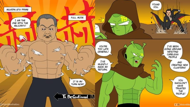 Webcomic On COVID-19 Pandemic In Malaysia By Ernest Ng