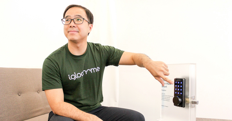 Anthony Chow, founder of the igloohome