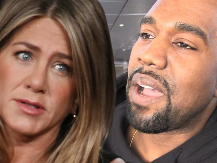 Jennifer Aniston Says Don't Vote Kanye West, 'It's Not Funny'