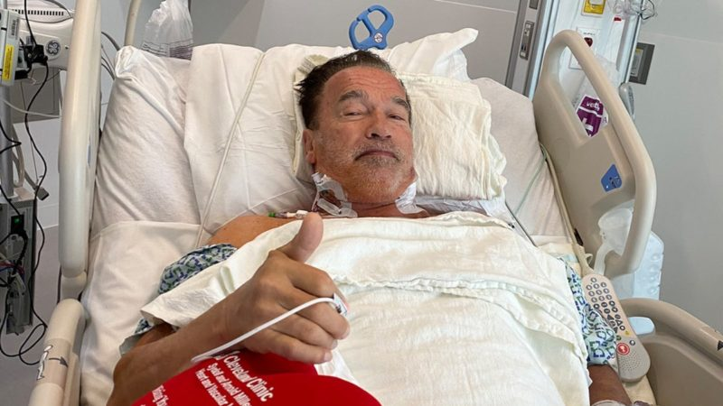 Arnold Schwarzenegger Recovering Well After Another Heart Surgery