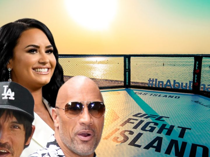 Dana White Says Demi Lovato, The Rock Will Be 1st Fans Invited to Fight Island