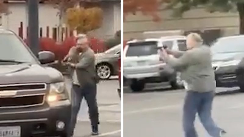 Washington Walmart Road Rage Incident Ends with Shots Fired