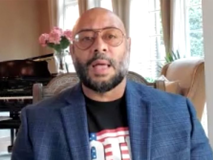 Exonerated CP5 Member Raymond Santana Not Buying Trump's 'Least Racist' Claim