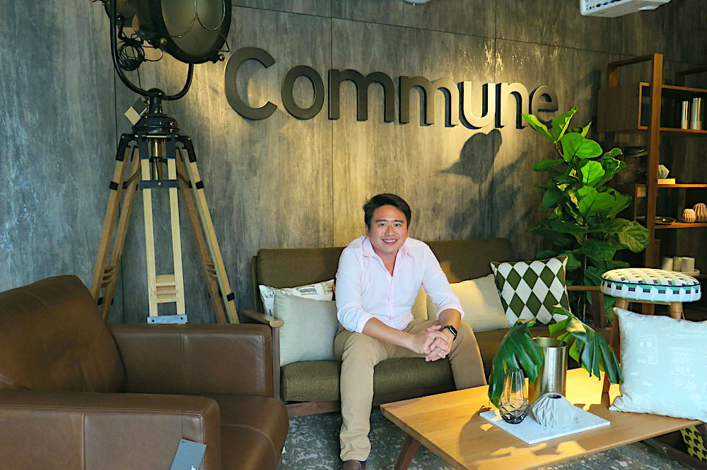 founder of joshua koh commune
