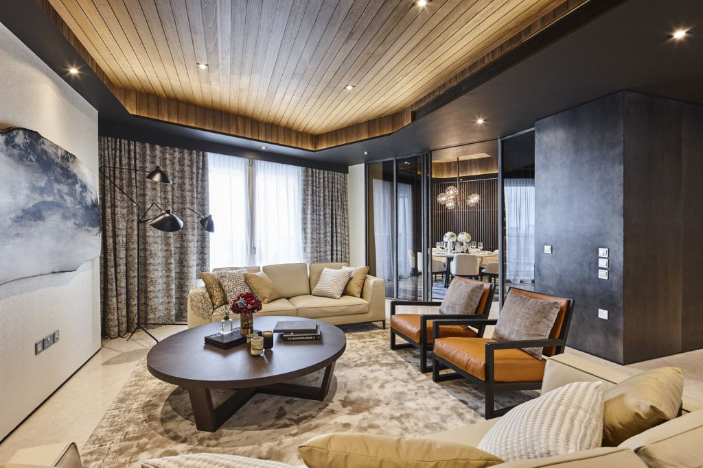 A showflat at DUO Residences