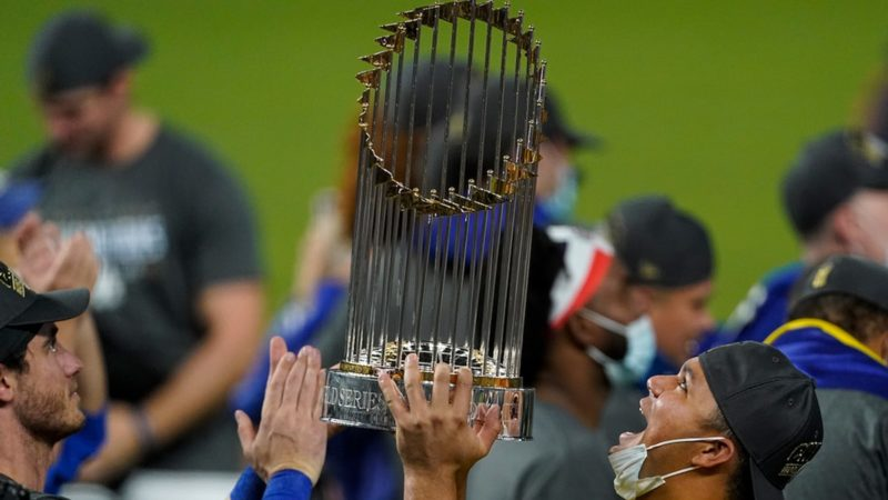 L.A. Dodgers Postponing Championship Parade Due To Pandemic
