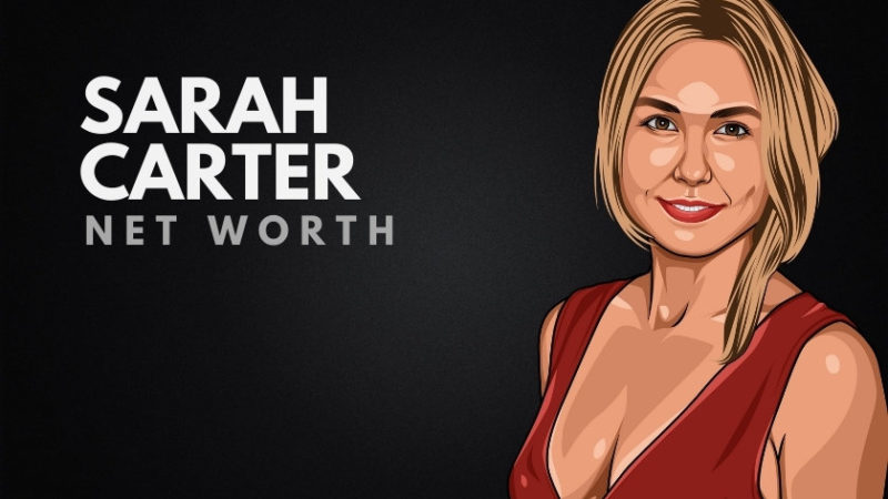 Sarah Carter's Net Worth in 2020