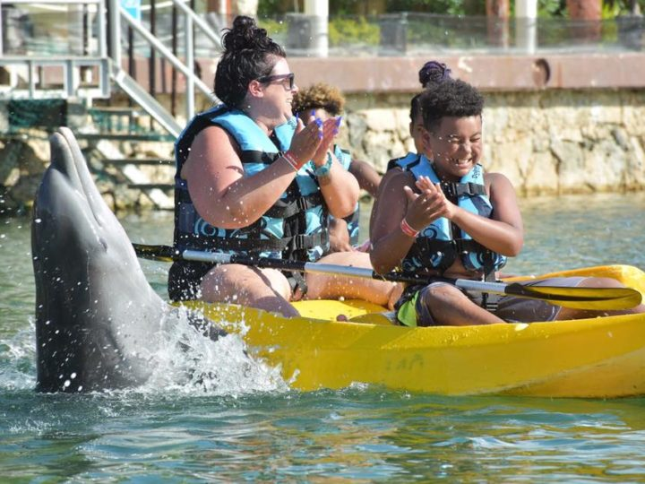 A full day of activities in the Puerto Aventuras