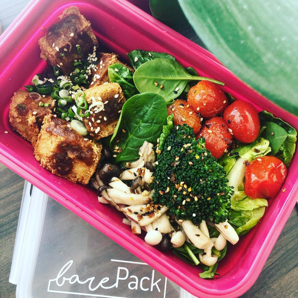 reusable barepack container