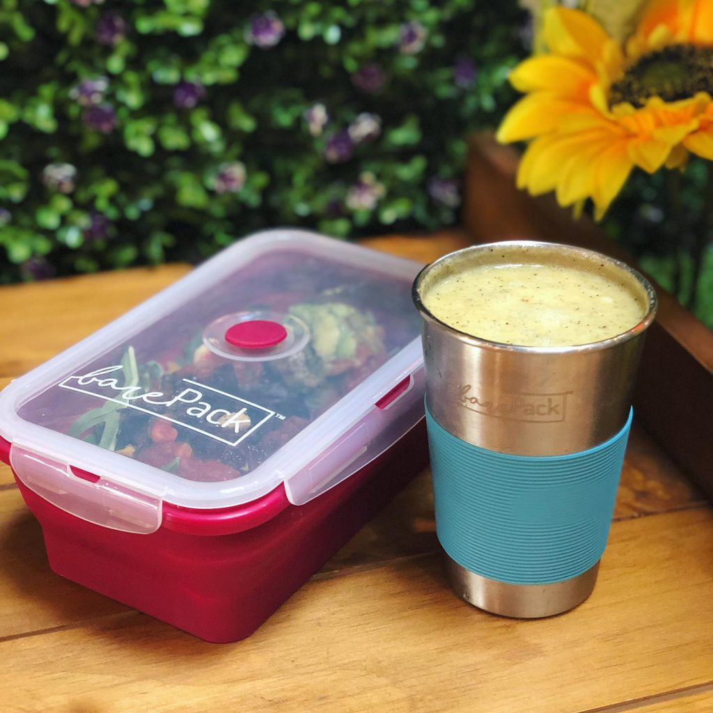 reusable cup and container barepack