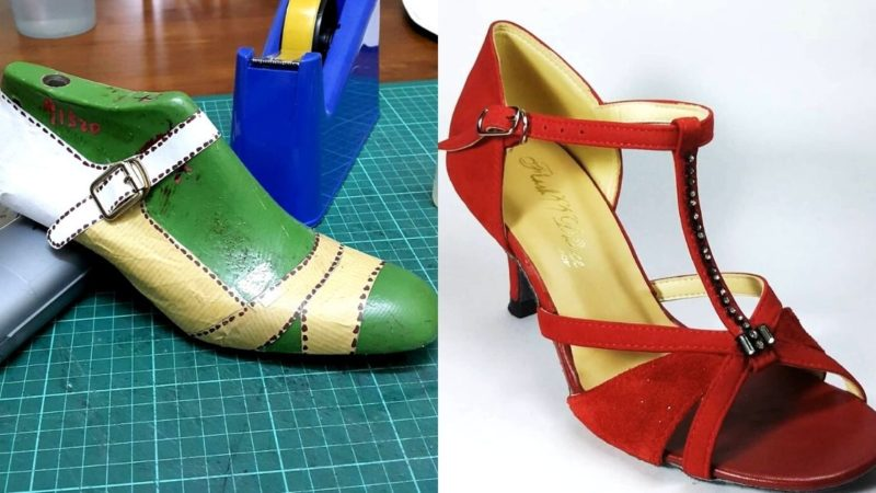 Customising Affordable Dancing Shoes In Malaysia