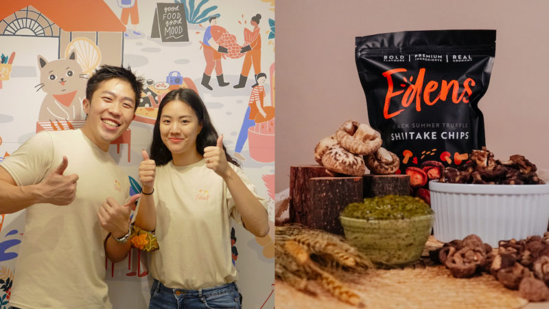 2 SMU Grads Invested $50K To Start A Mushroom Snack Biz