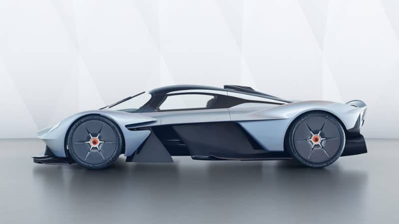 Most Expensive Cars - Aston Martin Valkyrie