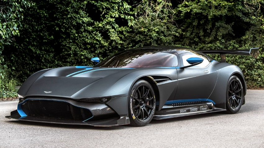 Most Expensive Cars - Aston Martin Vulcan