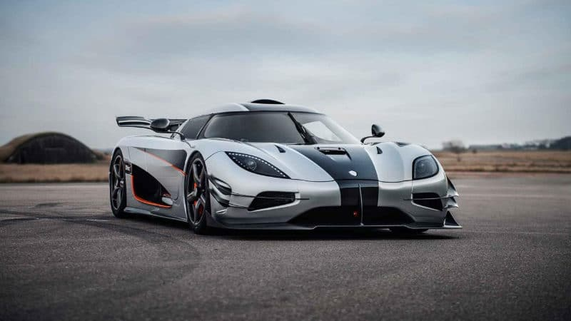 Most Expensive Cars - Koenigsegg One