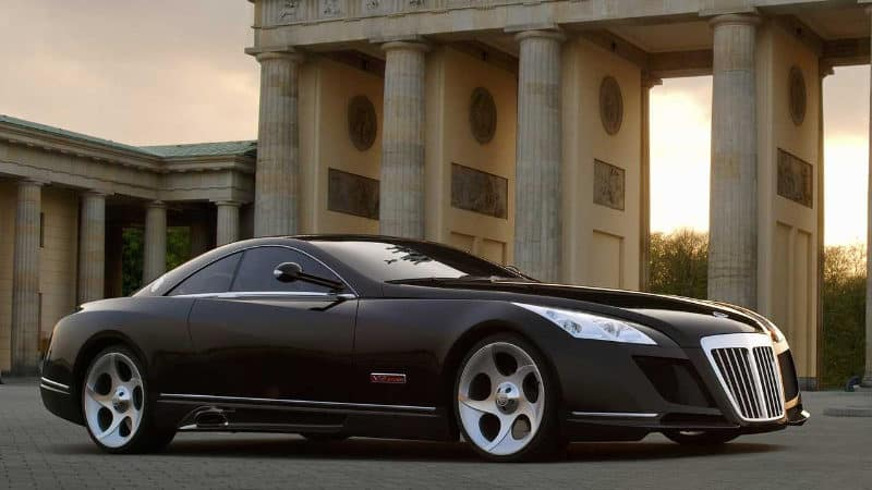 Most Expensive Cars - Mercedes Maybach Exelero