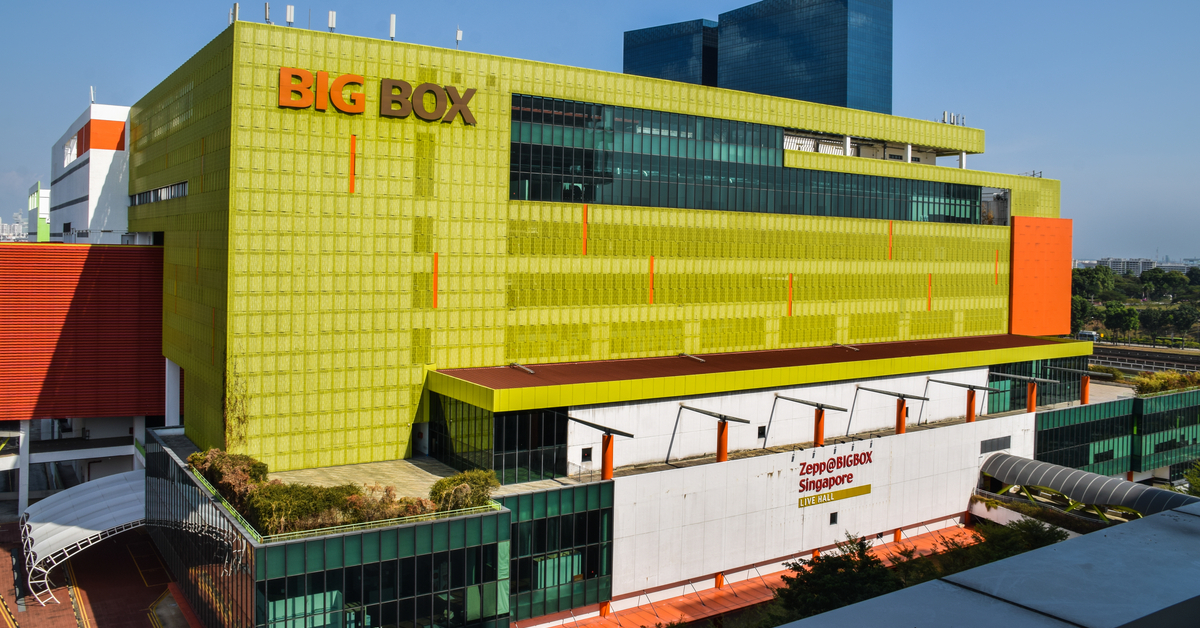 Big Box Acquired For S$118M
