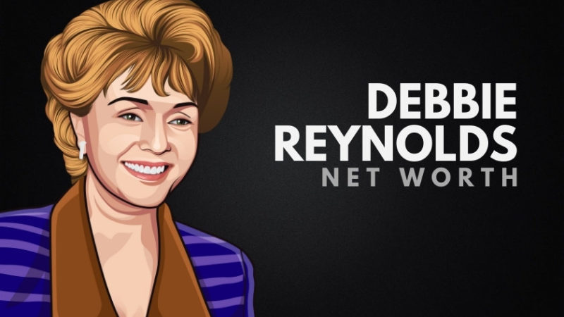 Debbie Reynolds' Net Worth (1932-2016)