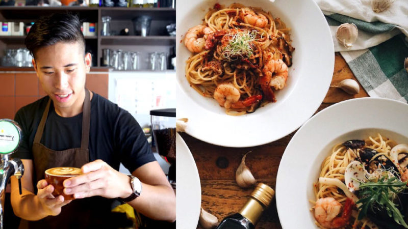 This S'porean Transformed His Family's Snack Store Into A Brunch Cafe