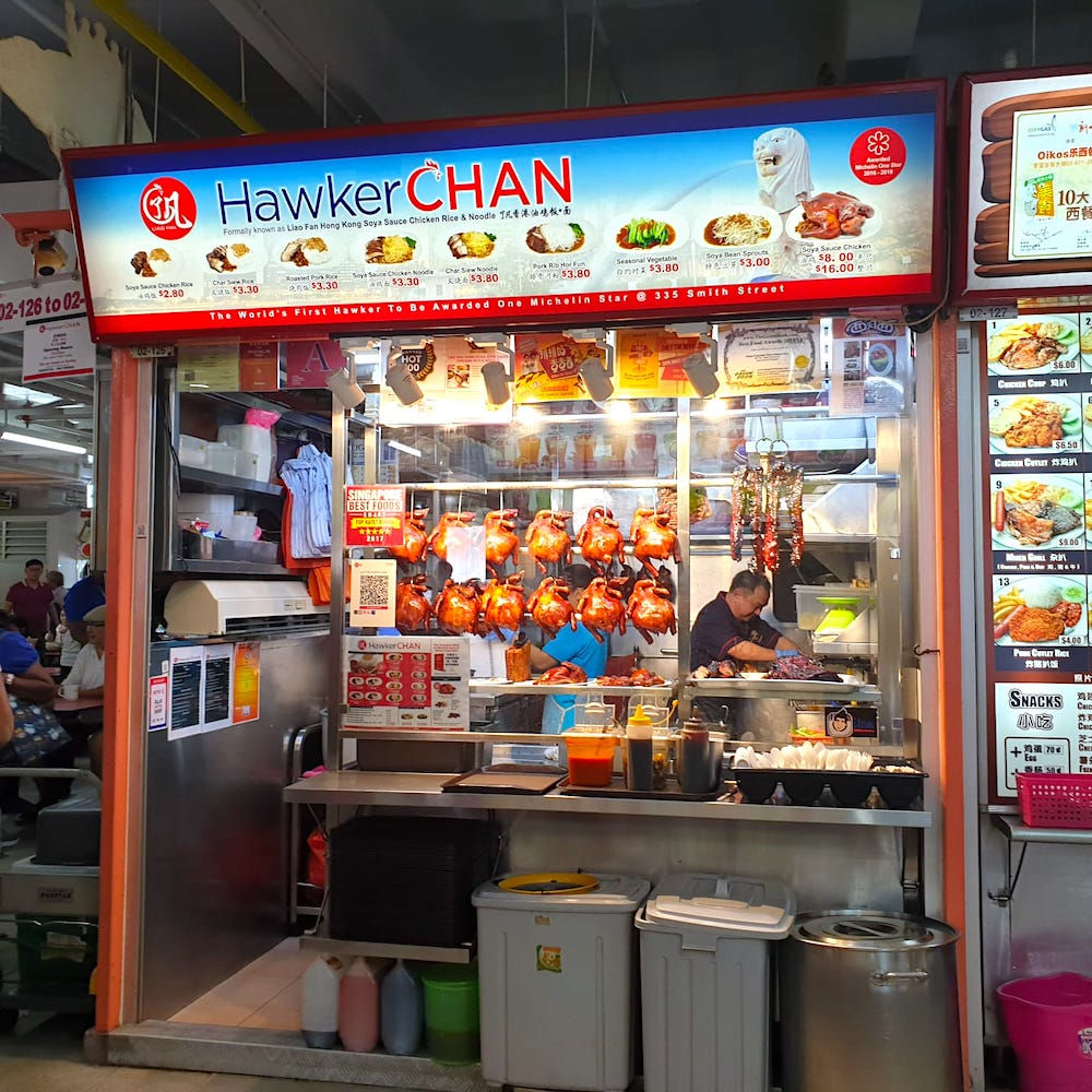 Hawker Chan Chinatown Stall