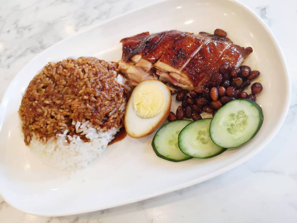 hawker chan soy sauce chicken rice