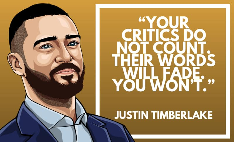 Justin Timberlake Picture Quotes 2