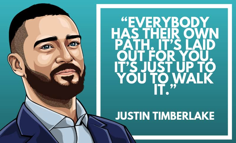 Justin Timberlake Picture Quotes 3