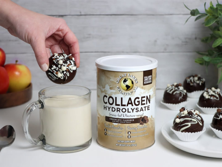 Keto Collagen Hot Chocolate Bombs