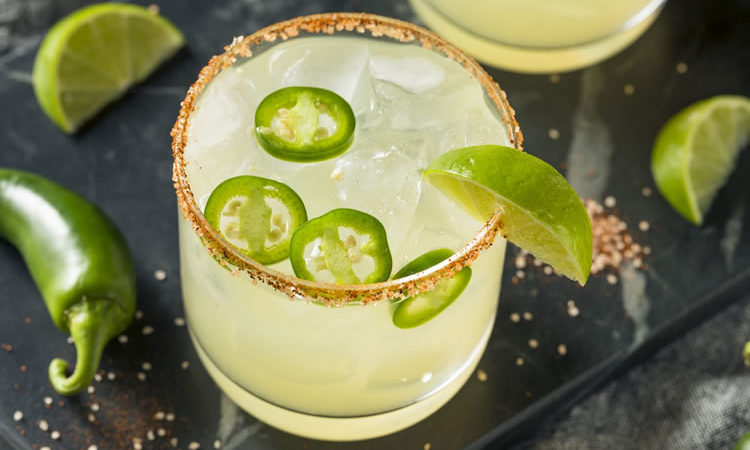 Recipe: Spicy Jalapeno Margarita With Chili Salt