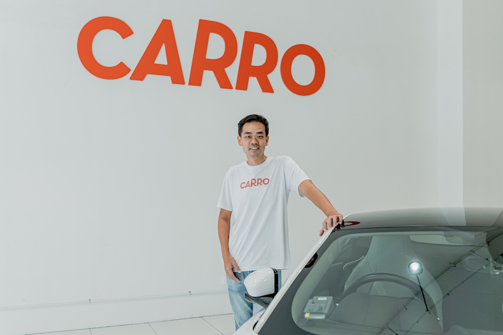 Aaron Tan, founder and CEO of Carro
