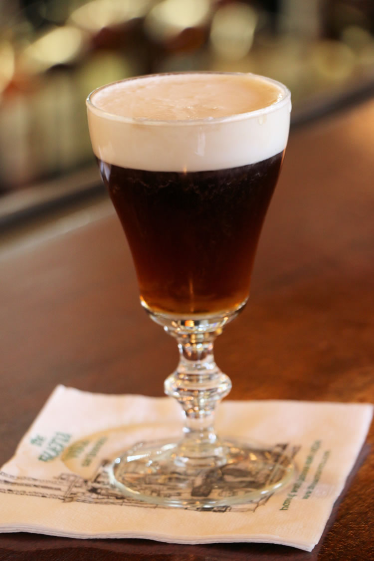 Authentic Irish Coffee from San Francisco at Buena Vista Cafe