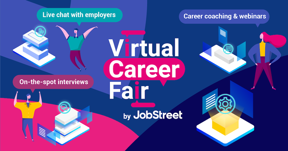virtual job fair jobstreet
