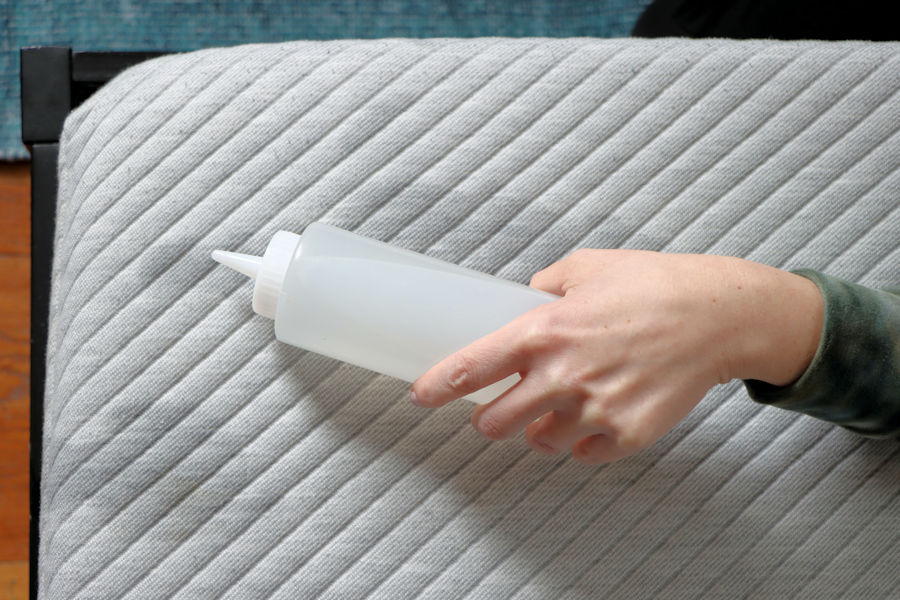 Powerizer cleans mattress and bedding