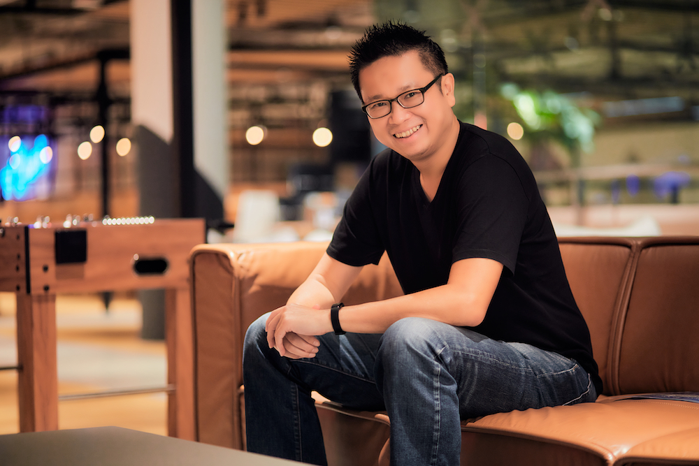 David Yeo, CEO of Storms