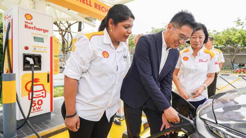 Shell To Pilot Solar-Powered Stations With Fast Charging For EVs