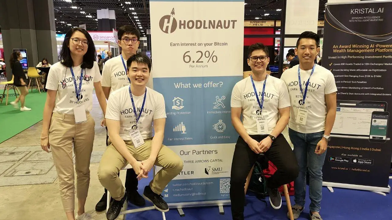 S'pore startup Hodlnaut offers 10% interest rates on your cryptocurrencies
