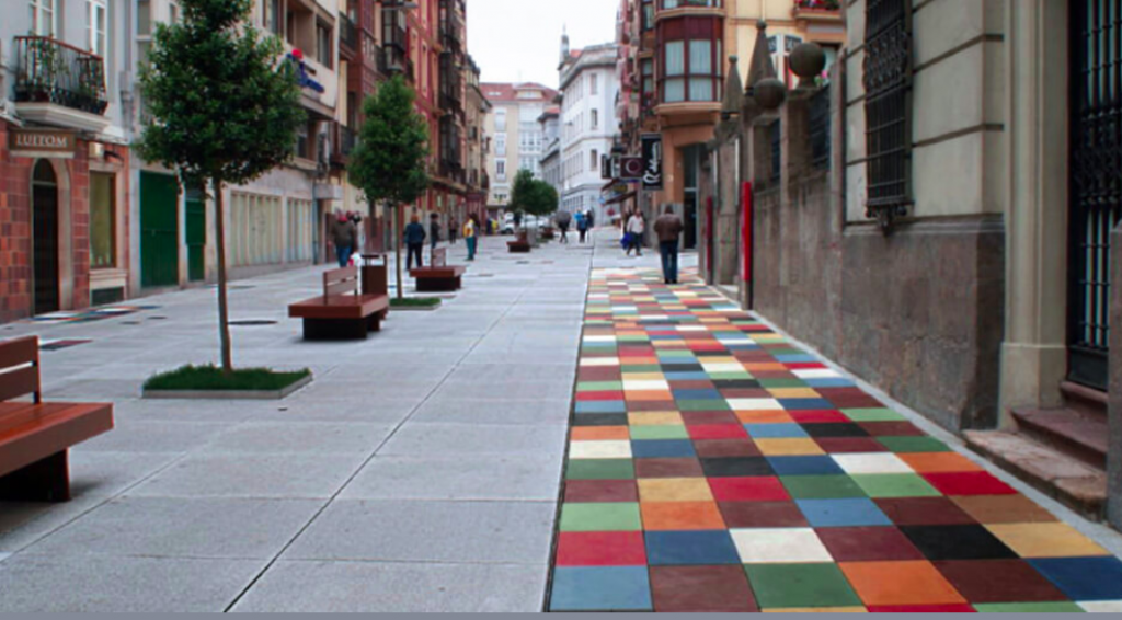 ecoGranic, pollutant-absorbing pavements