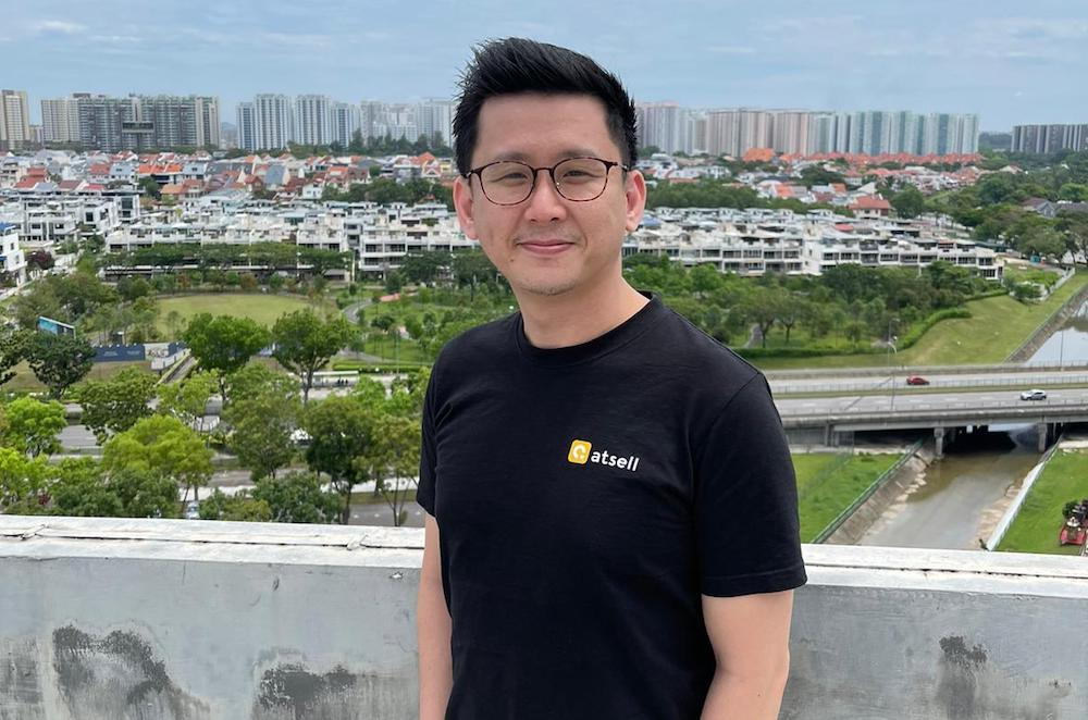 Jacob Chee, co-founder and CEO of Atsell