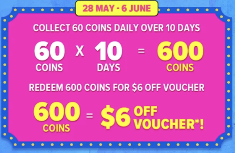 large size lazada coins