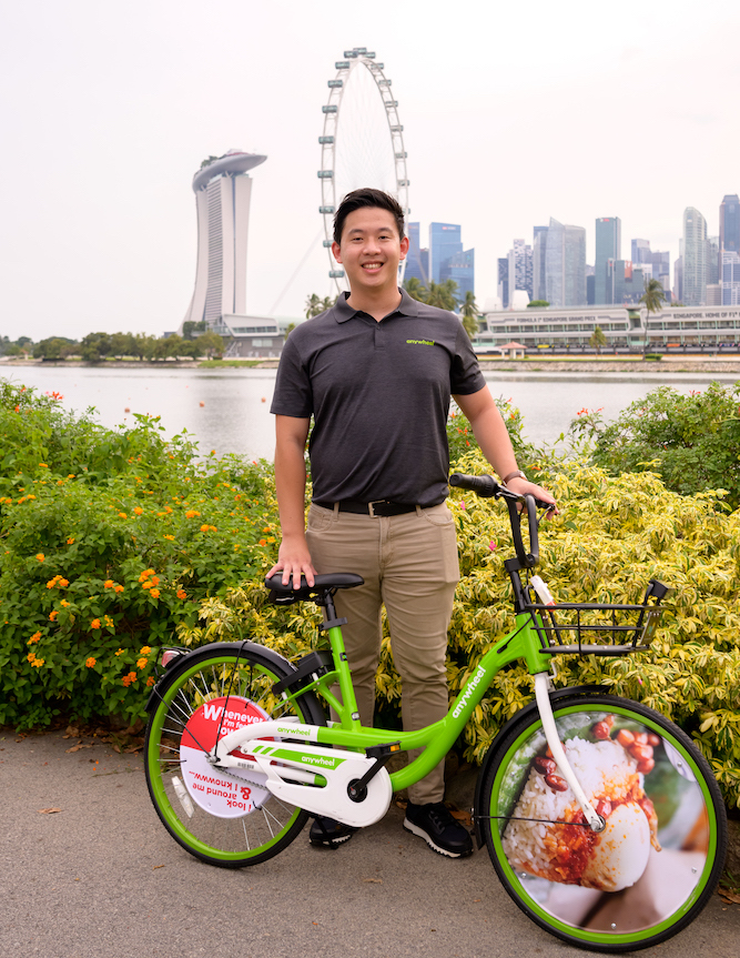 Htay Aung, founder and CEO of Anywheel